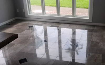 Can you fix the damage done to my marble floor by a different cleaning company?