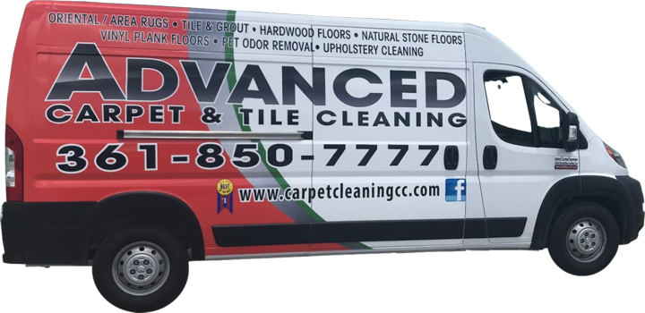 Advanced Carpet Cleaning Van
